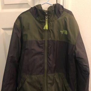 The North Face Reversible jacket size M 10-12